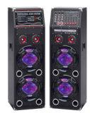 Беспроволочный двойник дикторы башни 10 дюймов профессиональные с Bluetooth и цветастым светом