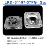 De Enige Lens die van de LEIDENE Vangrail van de Straat XPE/Xte 3535 3030 (Gepolariseerd licht) aanpast