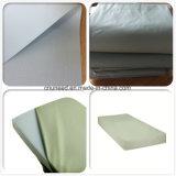 Tela incatramata impermeabile del PVC di qualità di Hight per la fodera per materassi medica