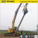 Alta qualidade que conduz o martelo de pilha Vibratory hidráulico da máquina para toda a máquina escavadora do tipo