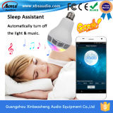 참신 LED Night Bulb Smart Audio Lamp Bluetooth Speaker Timing 온/오프 E27 10W