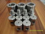 Части плакировкой никеля CNC стали углерода точности поворачивая