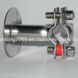 Steel di acciaio inossidabile Pipe Hold Pipe Clamp con Baseboard