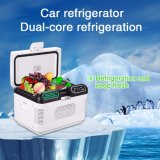 12V/ 24V Dual-Core 12L Mini Portable Car Refrigerator