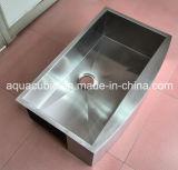Pia de cozinha de aço inoxidável de aço inoxidável de baixo nível único (ACS3320A1)