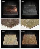 Mattonelle di pavimentazione lustrate lucidate porcellana lucida di sguardo del marmo di rivestimento