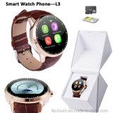 Neuestes Bluetooth intelligentes Uhr-Telefon mit SIM Einbauschlitz (L3)