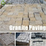 Natürlicher schwarzer Granit/Basalt/Schiefer/Sandstein/Porphyr Patio, der Kopfstein-Stein pflastert