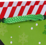 Sacos simples do presente do Natal do boneco de neve do saco de papel de Jingli