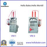 Вертикальная бутылка бумаги/любимчика/пластичный Baler для неныжный рециркулировать (VM-2)