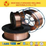 0.9mmのEr70s-6二酸化炭素の金橋製造業者ISO9001からのガスによって保護される溶接ワイヤ