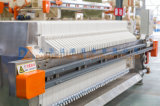 Automatische vertiefte 2017 Filterpresse mit S.S. 304 beschichtend für die Klärschlamm-Entwässerung