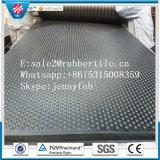 Couvre-tapis stable en caoutchouc antidérapage animal de la Chine de couvre-tapis en caoutchouc de Hoggery de résistance de déchirement