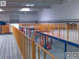 Crémaillère en acier de grenier de mezzanine de plate-forme d'entrepôt en métal industriel de mémoire