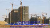 Kraan van de Toren Qtz63b van Hongda de Klassieke met de Sectie van de Buis van het Staal