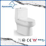 Tocador de cerámica del armario de una sola pieza de Siphonic del cuarto de baño (AT1000)