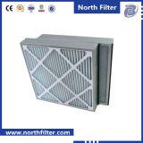 中央冷暖房システムのためのボール紙フレームとのプリーツをつけられたエアー・フィルタG4