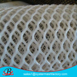 Rede plástica do engranzamento na fábrica de China