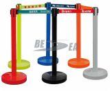 Barreira da corda da fila do controle de multidão do aço inoxidável ou do plástico