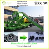 per la macchina di riciclaggio dei rifiuti della trinciatrice dell'asta cilindrica del doppio di capacità elevata di vendita
