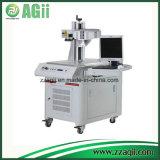 Máquina plástica da marcação do laser da fibra do cartão, máquina de gravura do laser, marcador do laser