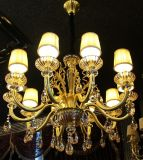 Éclairage pendant moderne de Phine 02155 avec Swarovski ou lumière en cristal de lustre de lampe de dispositif de la décoration K9