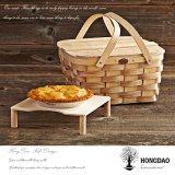 Hongdao Handmade Eco 버드나무 저장 바구니 또는 선물 바구니 _D