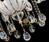 Candelabro de cristal com o diodo emissor de luz Alloy Arm e 8 Lights e Swarovski Crystal Pendent de Zinc (ST-063-8)