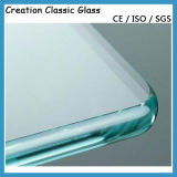 19mm flaches ausgeglichenes Glas für Treppen-Geländer mit ISO/Ce/SGS Bescheinigung