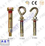 Болт с крючком анкера втулки нержавеющей стали