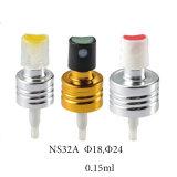 Rociador de aluminio de la bomba del prensado del nuevo diseño para el perfume (NS32A)