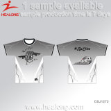 T-shirt d'impression de T-shirt de sublimation de T-shirt de Healong
