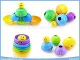 Il puzzle gioca i giocattoli educativi dei giocattoli DIY delle tazze impilati plastica