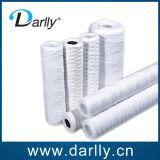Recolocação do filtro da ferida da corda do tratamento da água para a indústria