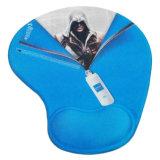 almofada de rato do gel do descanso de pulso 3D para presentes relativos à promoção novos