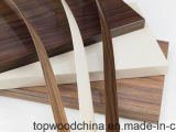 Woodgrain와 태양열 집열기를 가진 0.5mm-2mm PVC 가장자리 밴딩