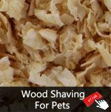 Litière du chat de pin, boulette de pin, déchets sauvages de pin pour la litière du chat en bois de pin de chat