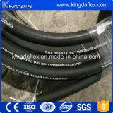고품질 Multispiral 고압 유압 호스 En856 4sp