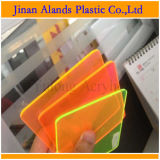 Hoja de acrílico del plexiglás del color transparente claro de Jinan China