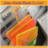Folha acrílica do plexiglás da cor transparente desobstruída de Jinan China