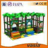 Speelplaats van het Huis van het Spel van jonge geitjes de Mini met de Trampoline van het Spel van de Peuter