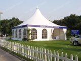 Eventsのための10X10m Glass Wall Pagoda Tent/Gazebo Tent