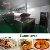 Forno a tunnel elettrico del fornitore/del gas professionale cottura per la linea di produzione Bds-14D