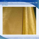 Usine en laiton de tissu de treillis métallique