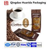Quadratischer unterer Plastikkaffee-verpackenbeutel