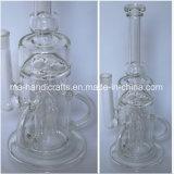 """14 """" tubos de agua de cristal de Borocilicate para fumar"""
