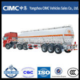Cimc 40m3 Oil Fuel Tanker Trailer com Three Axles