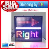 Sinal Editable do indicador de diodo emissor de luz do anúncio de imagem do logotipo do texto da sustentação do USB do quadro de avisos ao ar livre do indicador de diodo emissor de luz da cor cheia
