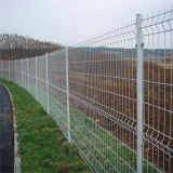 PVC Coated 3D Curved FenceかAirport Fence