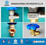 Valve oxygène-gaz médicale en laiton de cylindre (QF-6A)